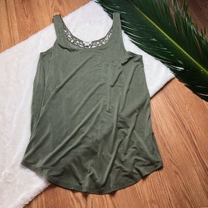 Garage Embroidered Tank Top